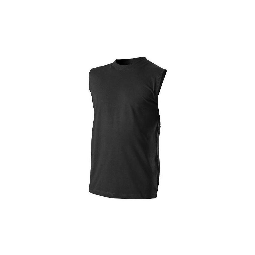Tričko bez rukávů černé č. M 9a56694772