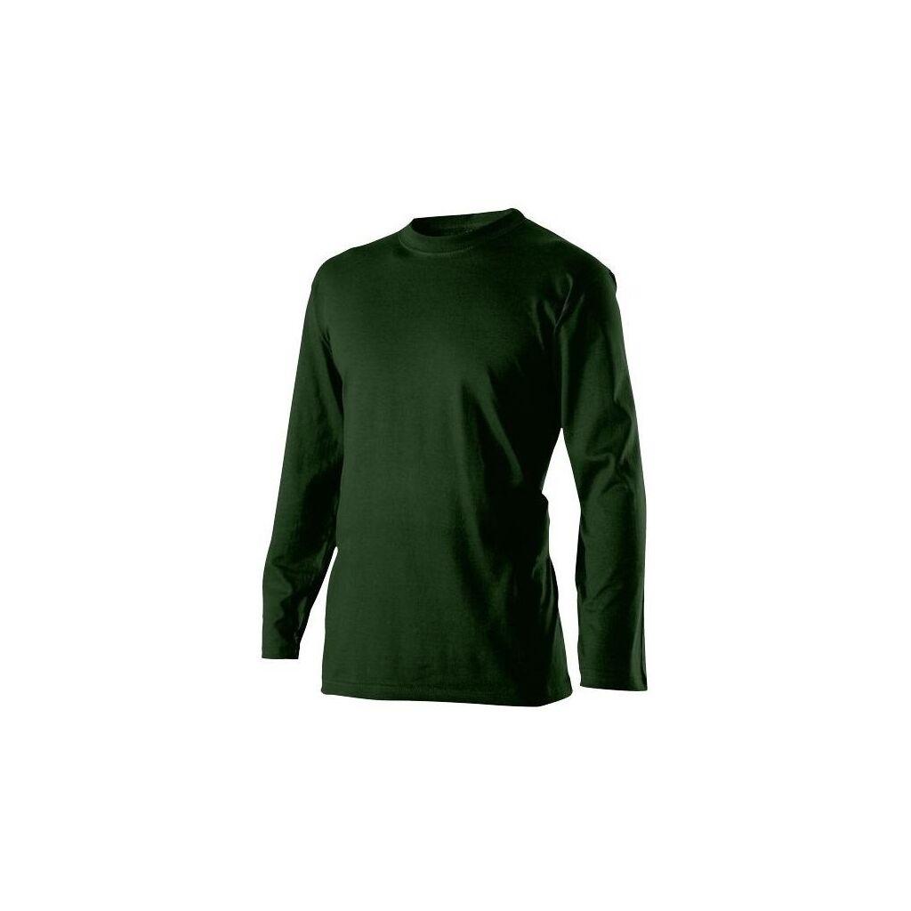 412d64b2074c Pánské tričko dlouhý rukáv zelené č. XXXL