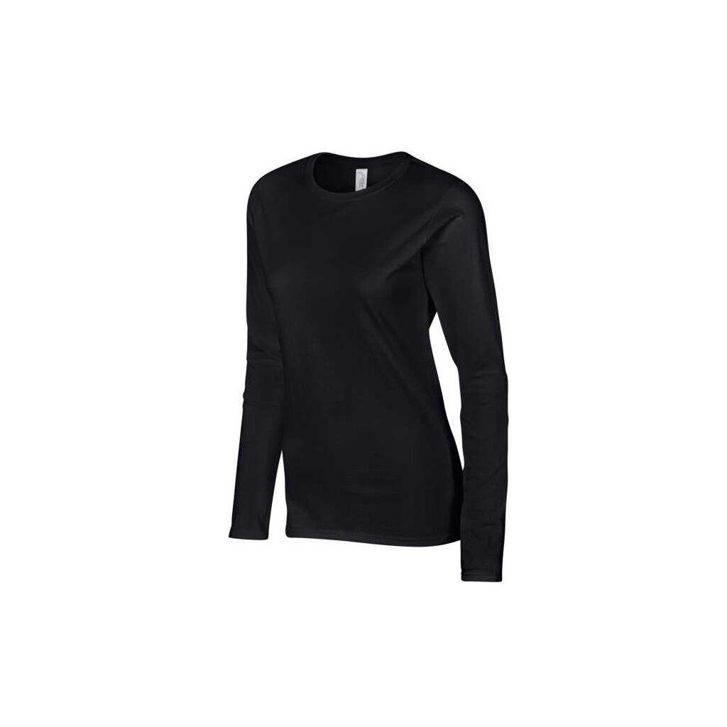 Dámské tričko dlouhý rukáv černé č. M 8d85616a1c