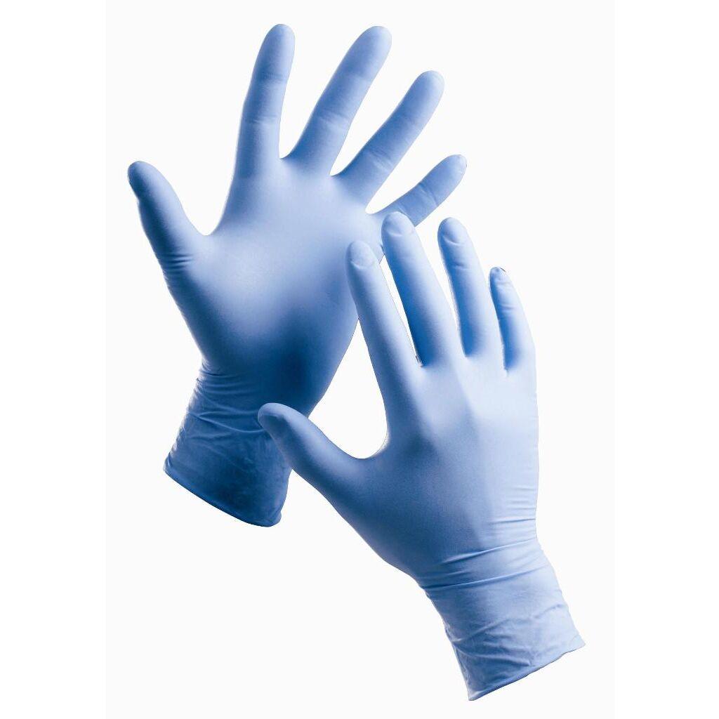 Nitrilové jednorázové rukavice Barbary č. S f83fef76ba