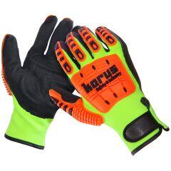 Crostec mechanické protiřezné rukavice s ochranou proti nárazu ccff0f0ea2
